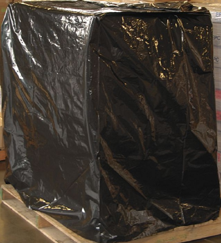Black UVI - UVA Pallet Covers - 2 Mil - 50 x 42 x 69 - 10880 - 65 Ct.