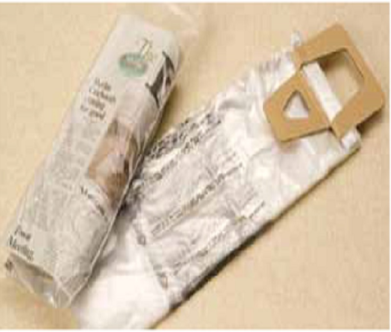 Newspaper Bags - 6 x 16 - .4 Mil with Door Knob Hole - 2000 Ct.