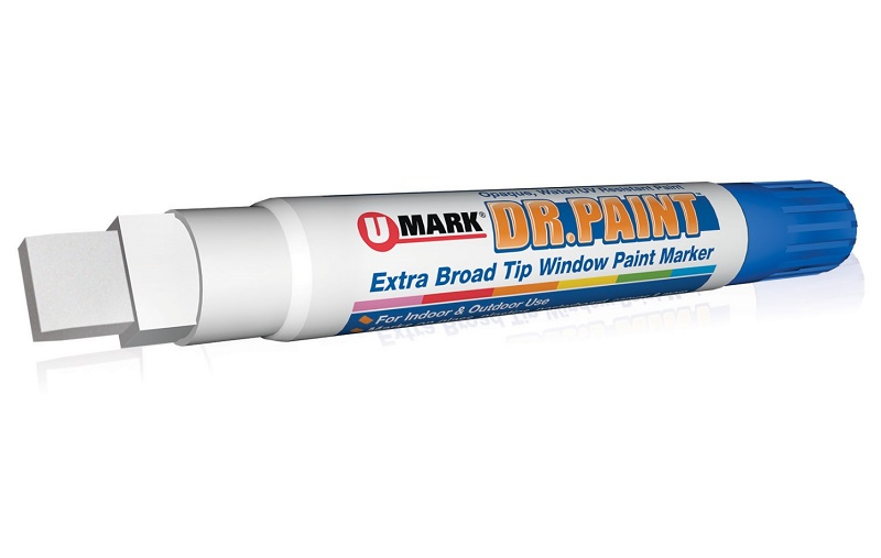 Dr. Paint Extra Broad Tip Window Markers