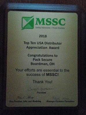 Pack Secure Gets Another Top Seller Award From MSSC