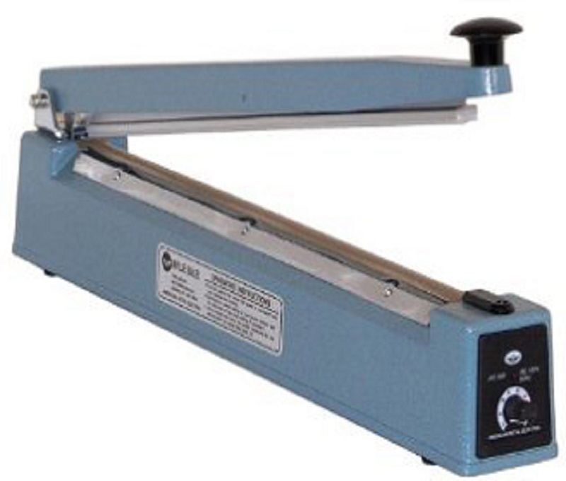 AIE-200 - Hand Impulse Sealer - 8 inch Length with 2 mm Wide Seal