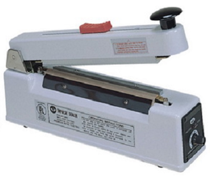 AIE-210C - 8 inch Hand Impulse Sealer with 10mm Seal and Cutter