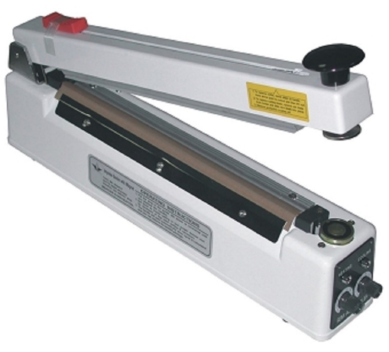 AIE-305MC - 12 Inch Impulse Hand Sealer 5mm Seal Magnet-Cutter