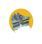 AIE-661HS - Hot Stamp Adapter Imprinter for Constant Foot Heat Sealers