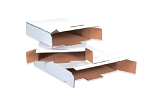 White End Load 12 1/8 x 11 5/8 x 2 5/8  Mailer - Locking Tabs 50 Ct.