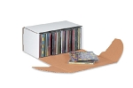 White Cardboard CD Mailers - 5 5/8 in. x 5 in. x 2 9/16 in. - 50 Ct.