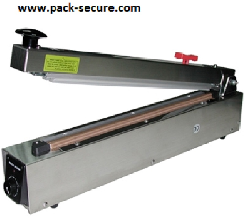 AIE-500HCS Stainless Steel Hand Impulse Sealer 20in.