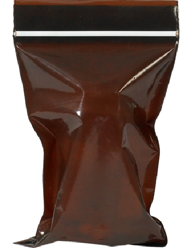 Amber Zip Lock Bags - Minigrip UV Guard Resealable - 2 x 3 1000 Ct.