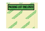 Recycled Packing List Envelopes - 7 Inch x 5 1/2 Inch - 1000 Ct.