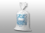 Ice Bags Printed - 8 x 3 x 20 - 8lb - Twist Tie Closure - 1000 ct.