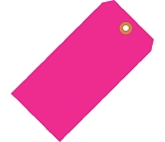 Fluorescent Pink Tags - Shipping and Inventory Tags