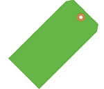 Fluorescent Green Tags - Shipping and Inventory Tags
