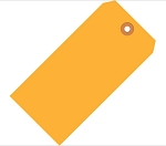 Fluorescent Orange Tags - Shipping and Inventory Tags