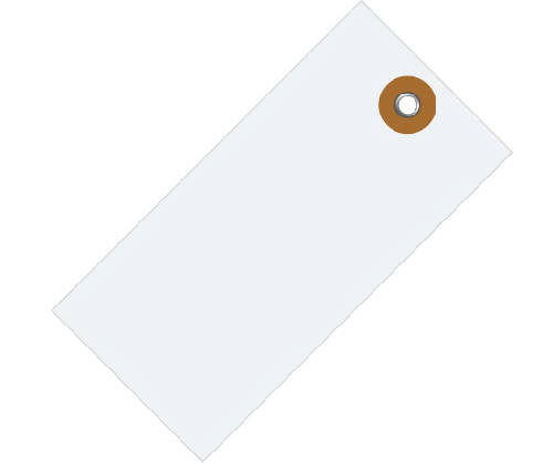 White Tyvek Shipping Tags | Tyvek Parts Tags | White Inventory ...