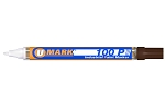UMark 100P Paint Marker - Brown - Fine Line 10215FL - 12 ct