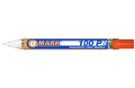 UMark 100P Paint Marker - Orange - Fine Line 10207FL - 12 ct