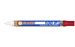UMark 100P Paint Marker - Red - Fine Line 10204FL - 12 ct