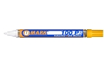 UMark 100P Paint Marker - Yellow - Fine Line 10206FL - 12 ct