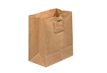 Plain Flat Handle Down - Grocery Bags - 12 x 7 x 14 - 300 ct.