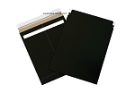 Black Self Seal Flat Mailer