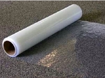 Carpet Protection Film Clear 2 mil. - 24 in x 50 ft (4 rolls) - CPF2450C/4