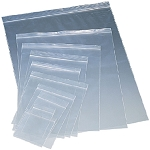 Clear Zip Reclosable Bags Assorted Sizes 2 mil.