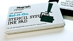 Diagraph Rol-It-On Ink Pad 4 x 7 Metal Case - 0408201