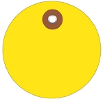 Circle Vinyl Tags Plain - 2 inch or 3 inch - 100 Ct.
