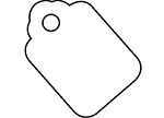 Merchandise Tags no string - 1 3/4 x 2 7/8 - G26009/3 -3000 Ct