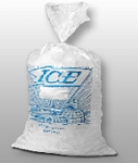 Ice Bags Printed - 11 x 19 - 8lb - Twist Tie - Wicketed - 1000 ct.