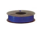 Plas-ties Twist Tie Spools - Blue-312-C - Plastic/Paper - 5 spools / 2000 ft each