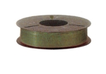 Plas-ties Twist Tie Spools - Green-312-D - Plastic/Paper - 5 spools / 2000 ft each