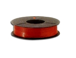 Plas-ties Twist Tie Spools - Red-312-A - Plastic/Paper - 5 spools / 2000 ft each