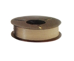 Plas-ties Twist Tie Spools - Tan-312-J - Plastic/Paper - 5 spools / 2000 ft each