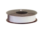 Plas-ties Twist Tie Spools - White-312-B - Plastic/Paper - 5 spools / 2000 ft each