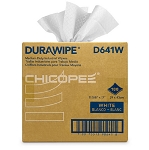 Chicopee White Durawipe Heavy Duty Wipers 8.75 x 17 - D811W