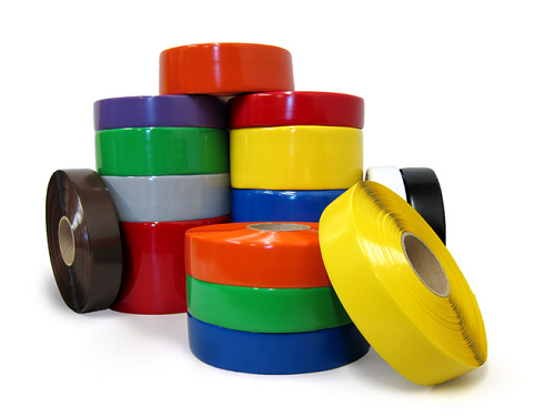 Safety Tape Solid Colors - 1 inch x 36 yards