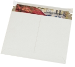 Flat Utility White Mailers, Recycled
