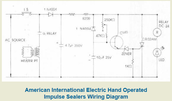 diagram for hand impulse sealers aie pack secure rh pack secure com Schematic Circuit Diagram Schematic Circuit Diagram