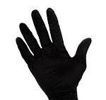 Black Nitrile Powder Free Gloves - 100 Count