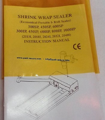 Gold - Yellow Shrink Wrap  75 Gauge - 16 x 2000