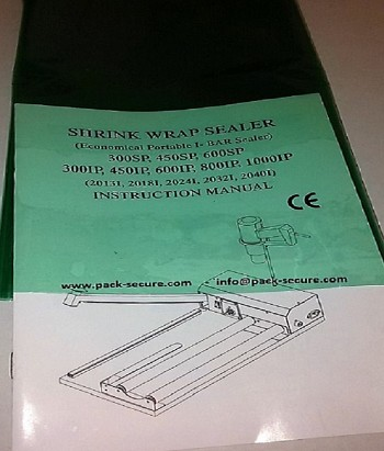 Green Shrink Wrap 75 Gauge - 16 x 500