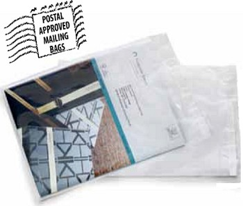 Postal Approved Lip and Tape Mailing Bags 2 mil - 9 x 12 - 1000 Ct - 13650