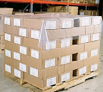2mil Pallet Top Cover Sheets - Clear - 60 x 68 - SFCAP