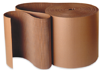 Corrugated Rolls - A Flute - Single Face Cardboard - 30 inch