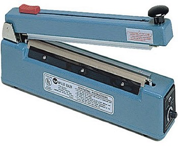 AIE-300C - 12 inch Hand Impulse Sealer with 2mm Seal and Cutter