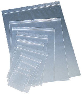 10 X 13 Clear Reclosable Bags 2 Mil Food Grade 1000 Ct