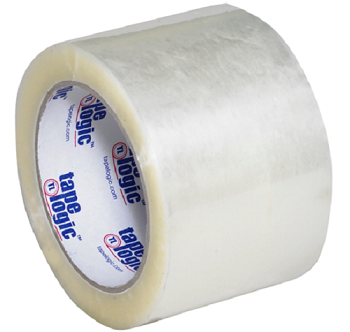 Carton Sealing Tape -1.6 mil - Clear and Tan