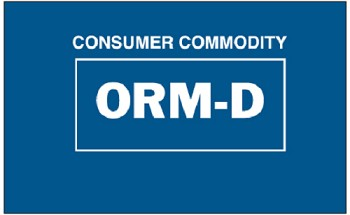 ORM-D-Consumer Commodity  500 Ct.
