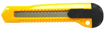 Utltily Knife Standard Duty with Retractable Snap off Blade - EP-110 - 60 ct
